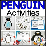 Penguin Activities (Penguin Science, Craft, Resources & More!)