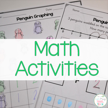 Penguin Activities for K-1