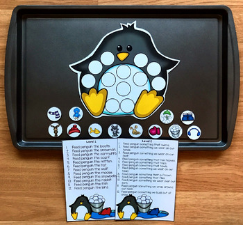 "Penguin Adapted Book and Activities:  ""The Hungry Hungry Penguin"""