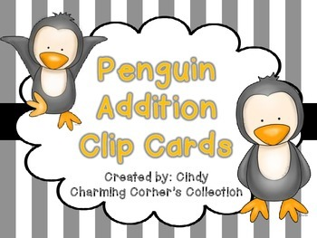 Addition ~ Winter Theme: Penguins