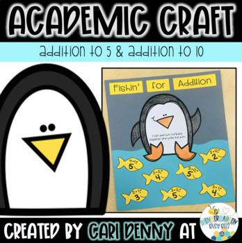 Penguin Addition Craft