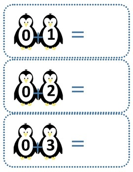 Penguin Addition Equations