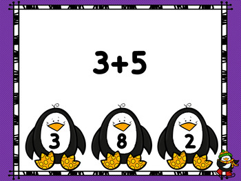 Penguin Addition Interactive Power Point