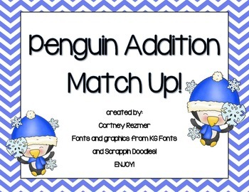 Penguin Addition Match Up