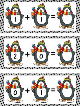 Penguin Addition Math Center