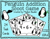 Penguin Addition Scoot Game