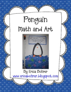 Penguin Addition Word Problem and Art Project