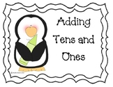 Penguin Addition with Tens and Ones