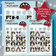 Penguin Alphabet 4x4 Bingo 30 Cards
