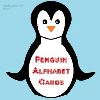 Penguin Alphabet Cards