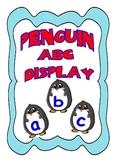 Penguin Alphabet Display