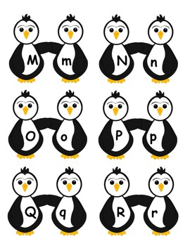 Penguin Alphabet Flashcards (both upper and lower case)