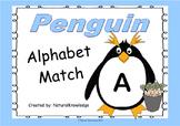 Penguins: Alphabet Match:  Letter to Letter