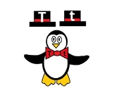 Penguin Alphabet Matching Activity for Preschool and Kindergarten