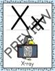 Alphabet Posters - Penguin Decor Theme (Full Page Size)