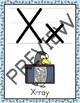 Alphabet Posters   Penguin Theme (Half Page Size)