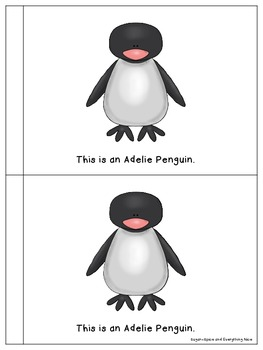 Penguin Animals Interactive/Emergent Story and Reader