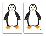 Penguin - Arctic Animals - Counting Mats - #1-10