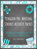 Penguin & Arctic Friends Pre-Writing Strokes packet! Developmental sequence!