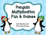 Multiplication and Division Games - Penguins