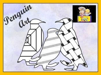 Penguin - Penguin Art - Coloring Activities - Clipart