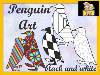 Penguin - Penguin Art - Coloring Activities - Clipart
