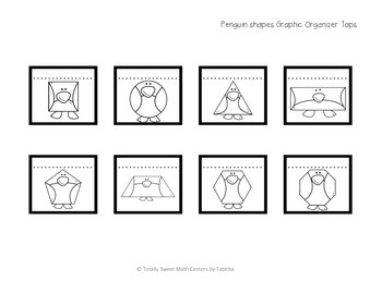Penguin Attributes Graphic Organizer- INB Activity