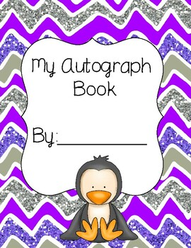 Penguin Autograph Book