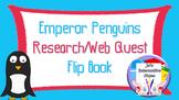 Penguin Awareness Day (January 20th) Research Flip Book
