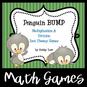 Penguin BUMP -- Multiplication & Division Fact Fluency Games