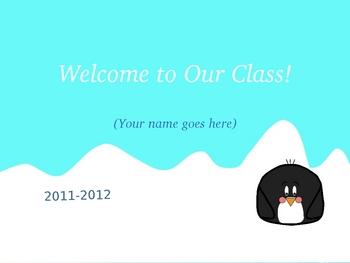 Penguin Back to School Slideshow