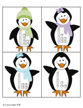 Penguin Base Ten Match