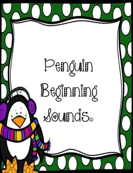 Penguin Beginning Sounds