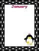 Penguin Birthday Wall