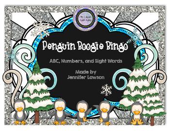 Penguin Boogie Bingo