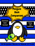 Penguin Book Companions: 15 Stories with 30 Response Sheets