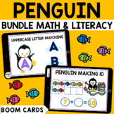 Penguin Boom Cards BUNDLE for Preschool : Winter Boom Cards