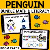Penguin Boom Cards BUNDLE for Preschool : Winter Boom Cards