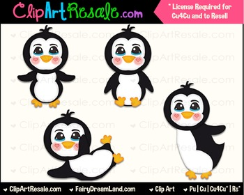 Penguin Boys ClipArt - Commercial Use
