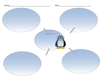 Penguin Bubble Map