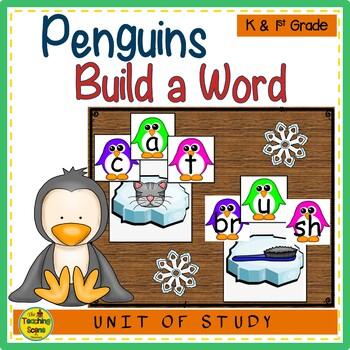Penguin Build a CVC Word