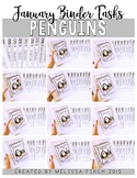 Penguin Binder- Independent Work Binder System