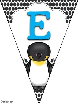 Bunting Banners Penguins