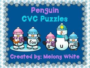 Penguin CVC Puzzles