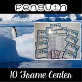 Penguin Center ~ 10 Frame