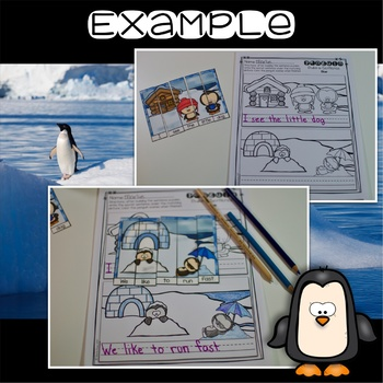 Penguin Center ~ Build a Sentence