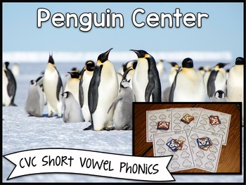Penguin Center ~ CVC Phonics