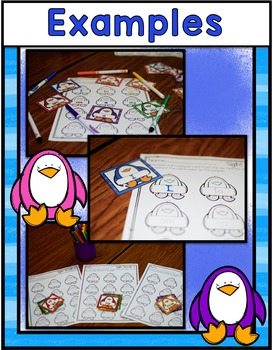 Penguin Center ~ Colorful Sight Words