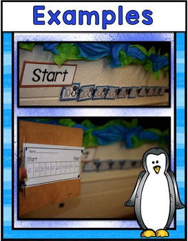 Penguin Center ~ Interactive Number Line