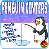 Penguin Centers Activities Winter Centers Literacy Math Fine Motor Polar Arctic